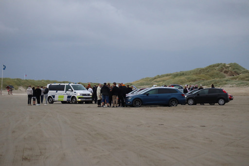 Biltræf på Rømø
