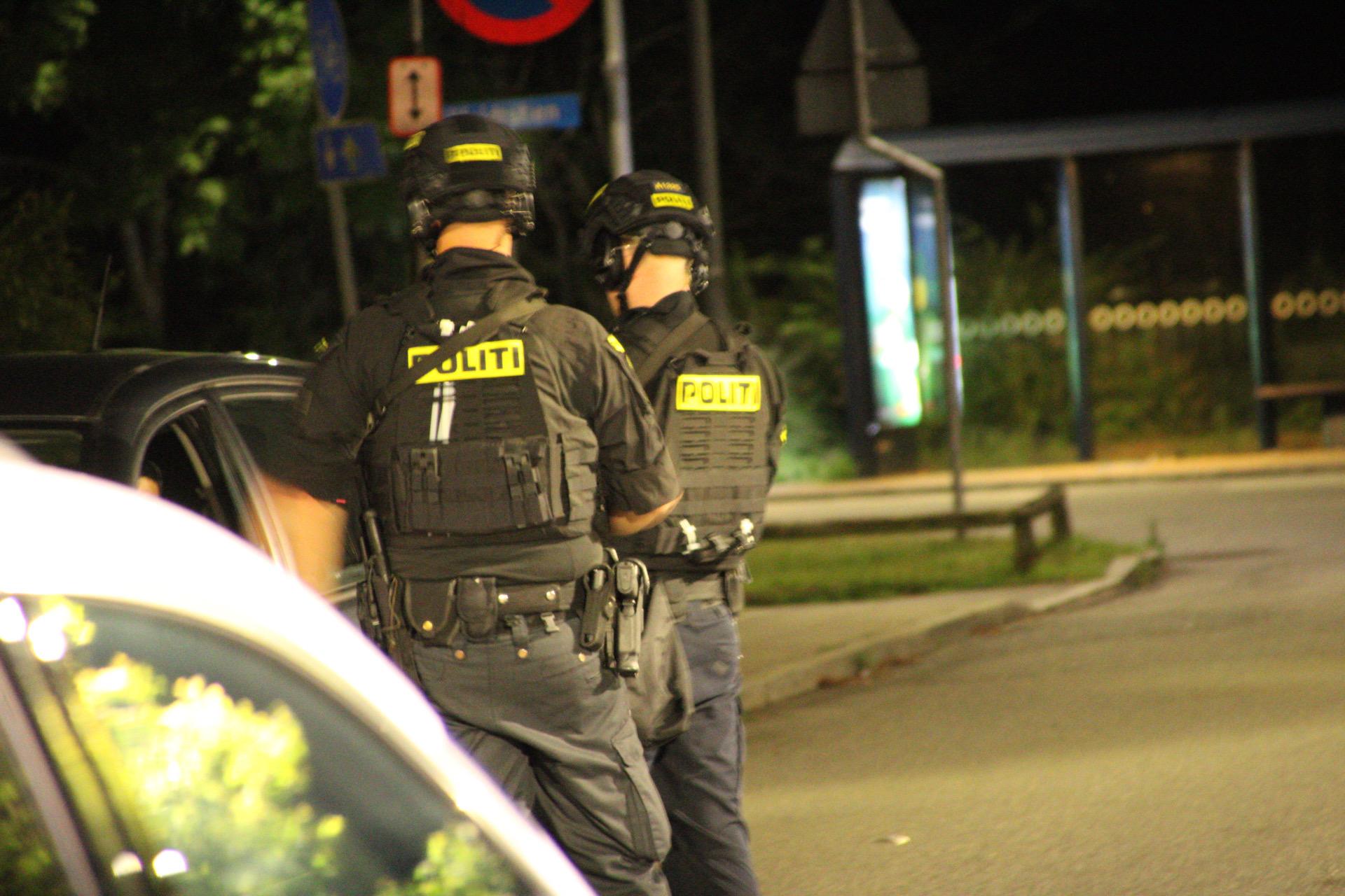 Skyderi i Holbæk - flere skud affyret