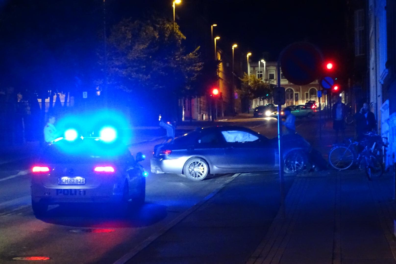 Soloulykke - bilist rammer hus i Horsens