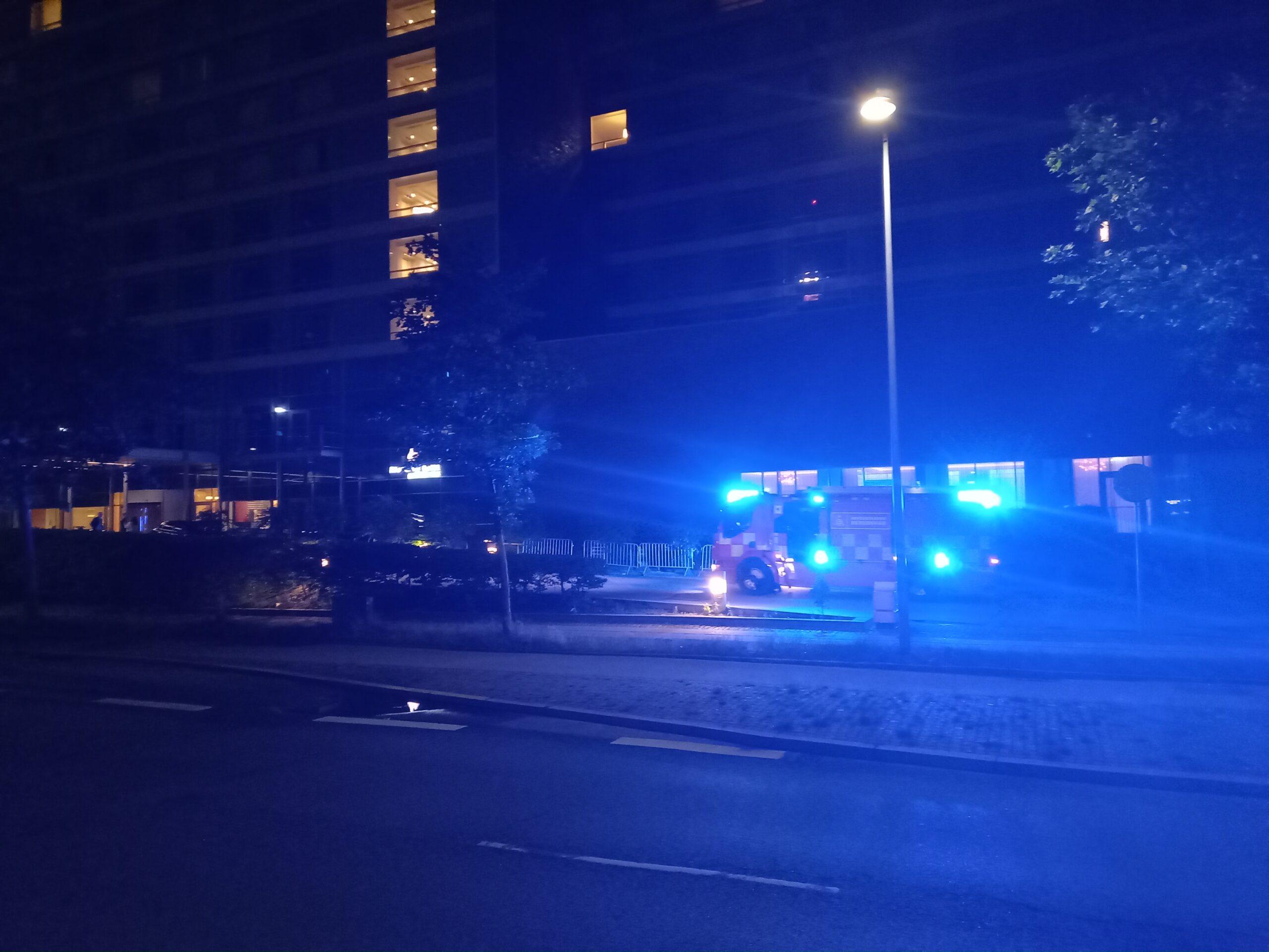 Brandalarm på 5 stjernet hotel - København