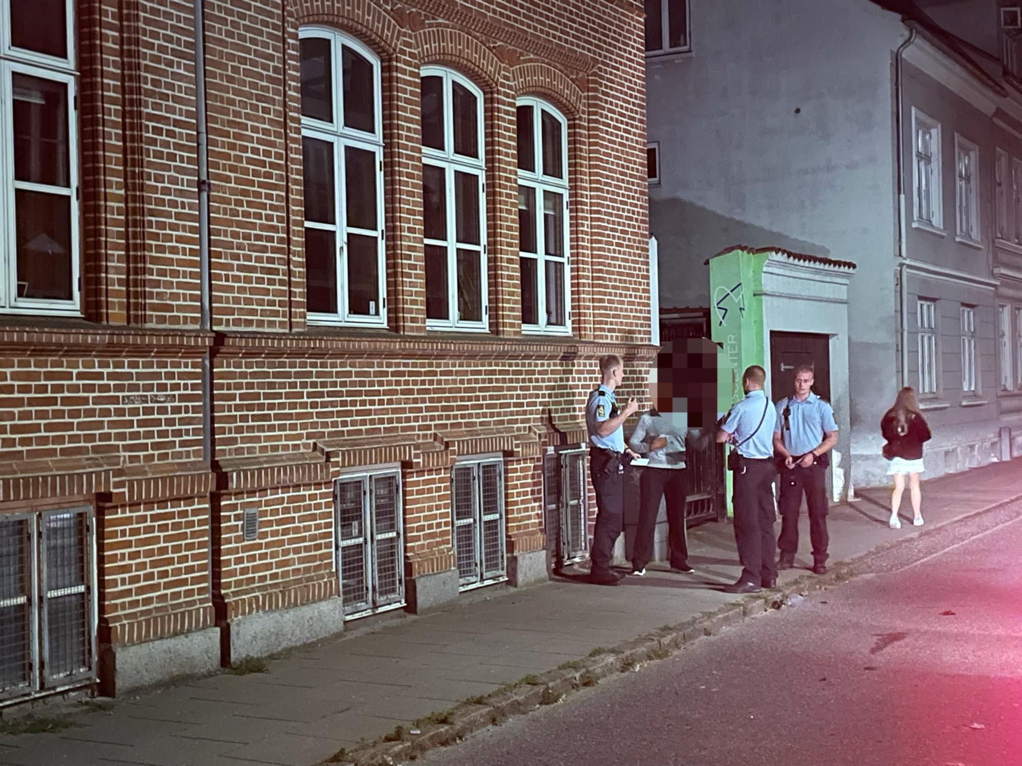 Nattelivet lukker i Silkeborg - Politiet talstærkt tilstede