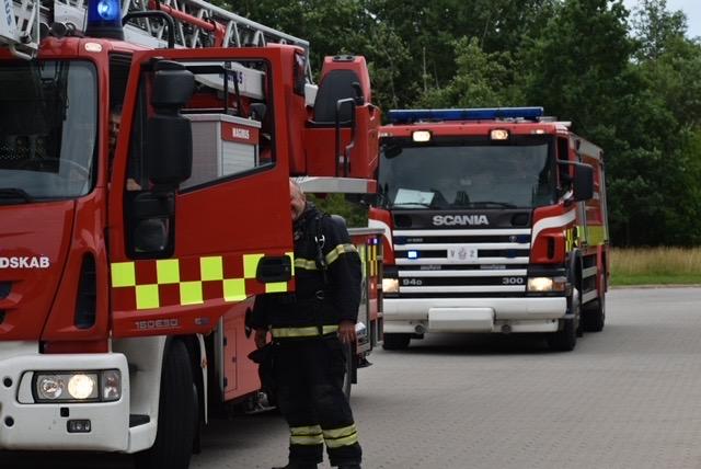 Brandalarm på Coloplast i Humlebæk