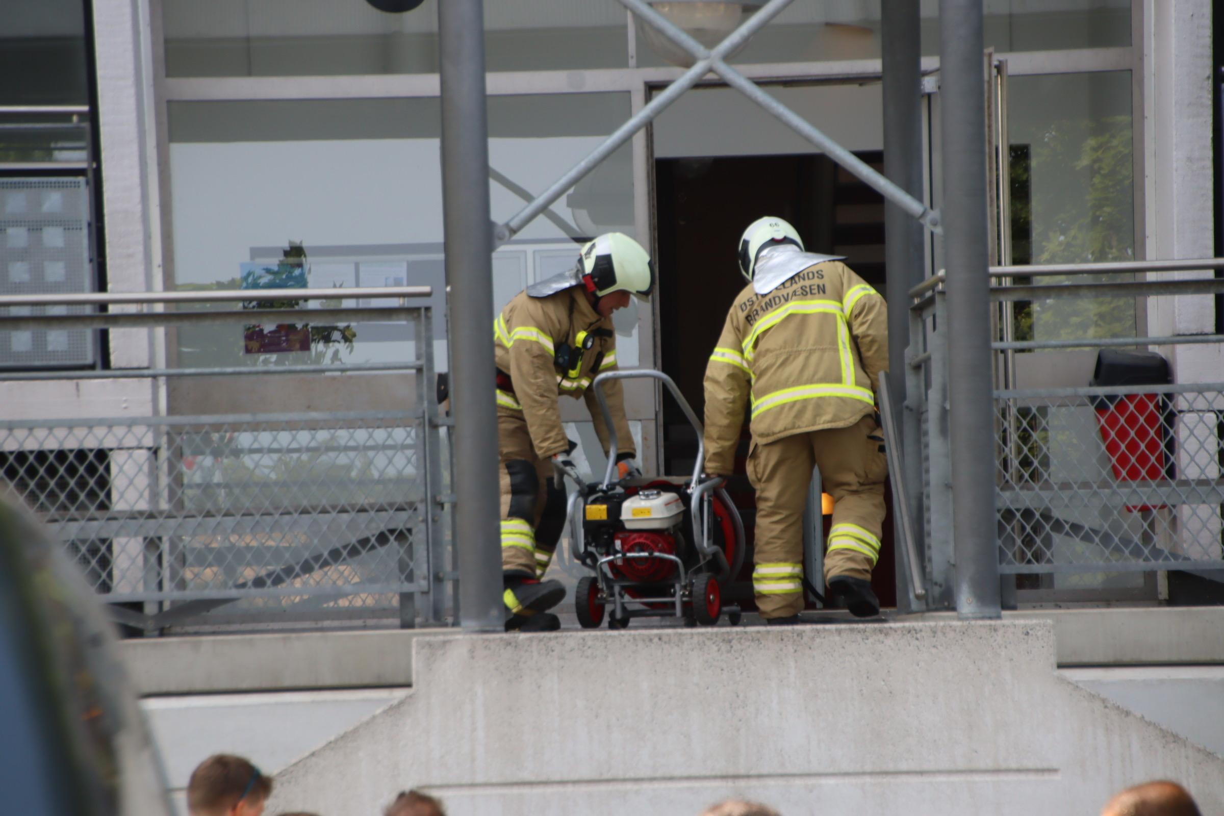 Lejlighedsbrand i Gellerupparken - Aarhus