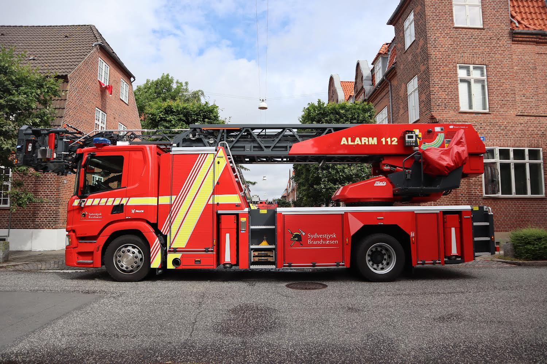 Brand i lejlighed i Esbjerg