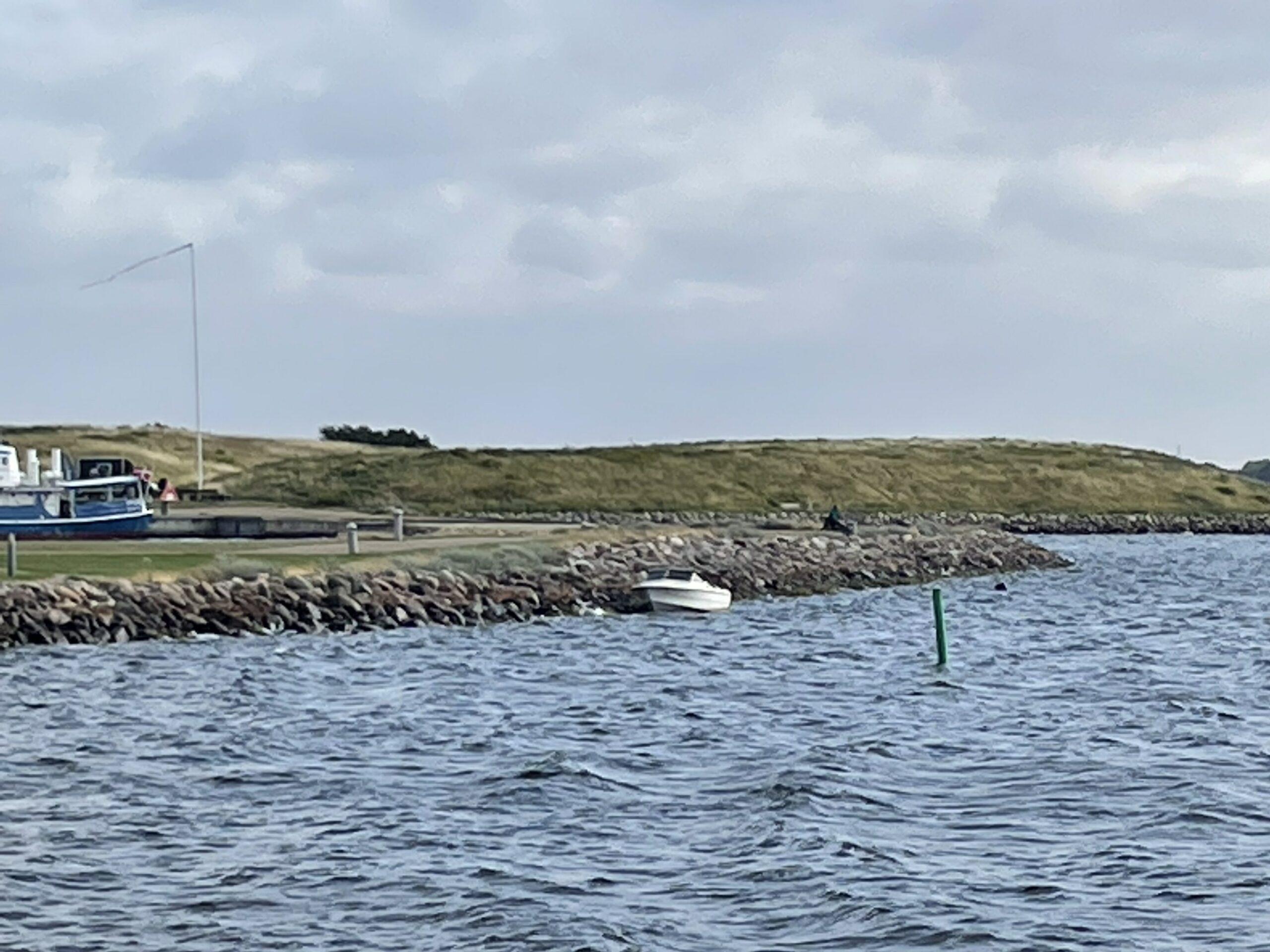 Løsrevet båd i Frederikssund