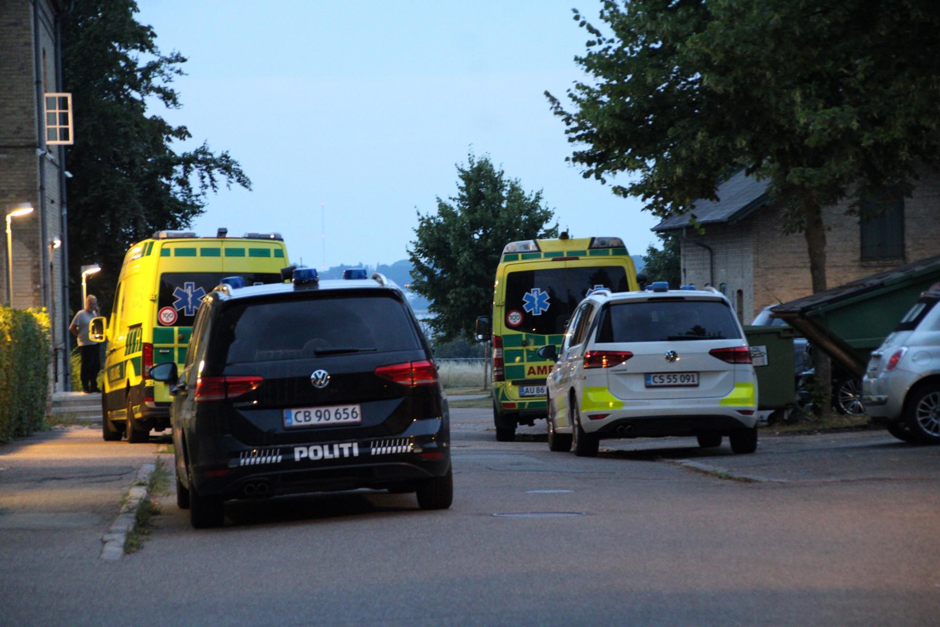 Flere plejere kommet til skade - patient amok på psykiatrisk hospital i Roskilde