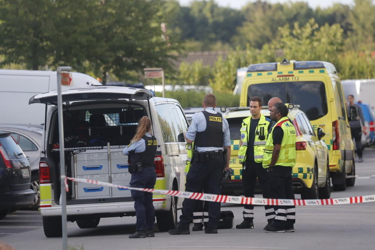 Politiaktion i Brøndby strand