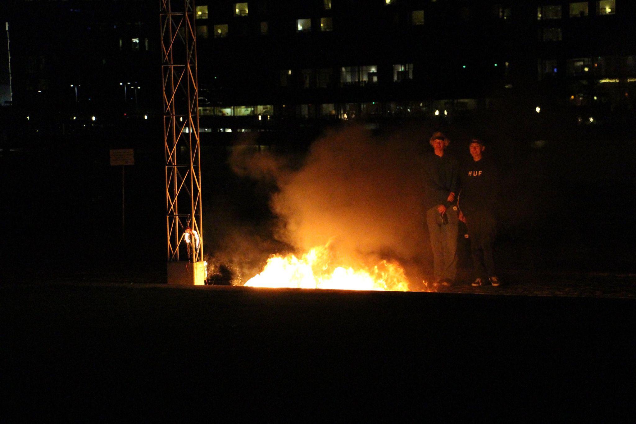 Brand på Islands Brygge