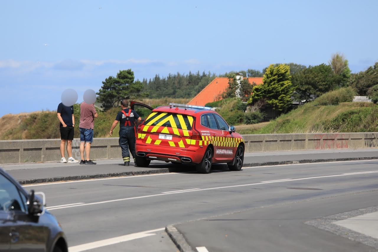 Melding om drukneulykke på Bornholm