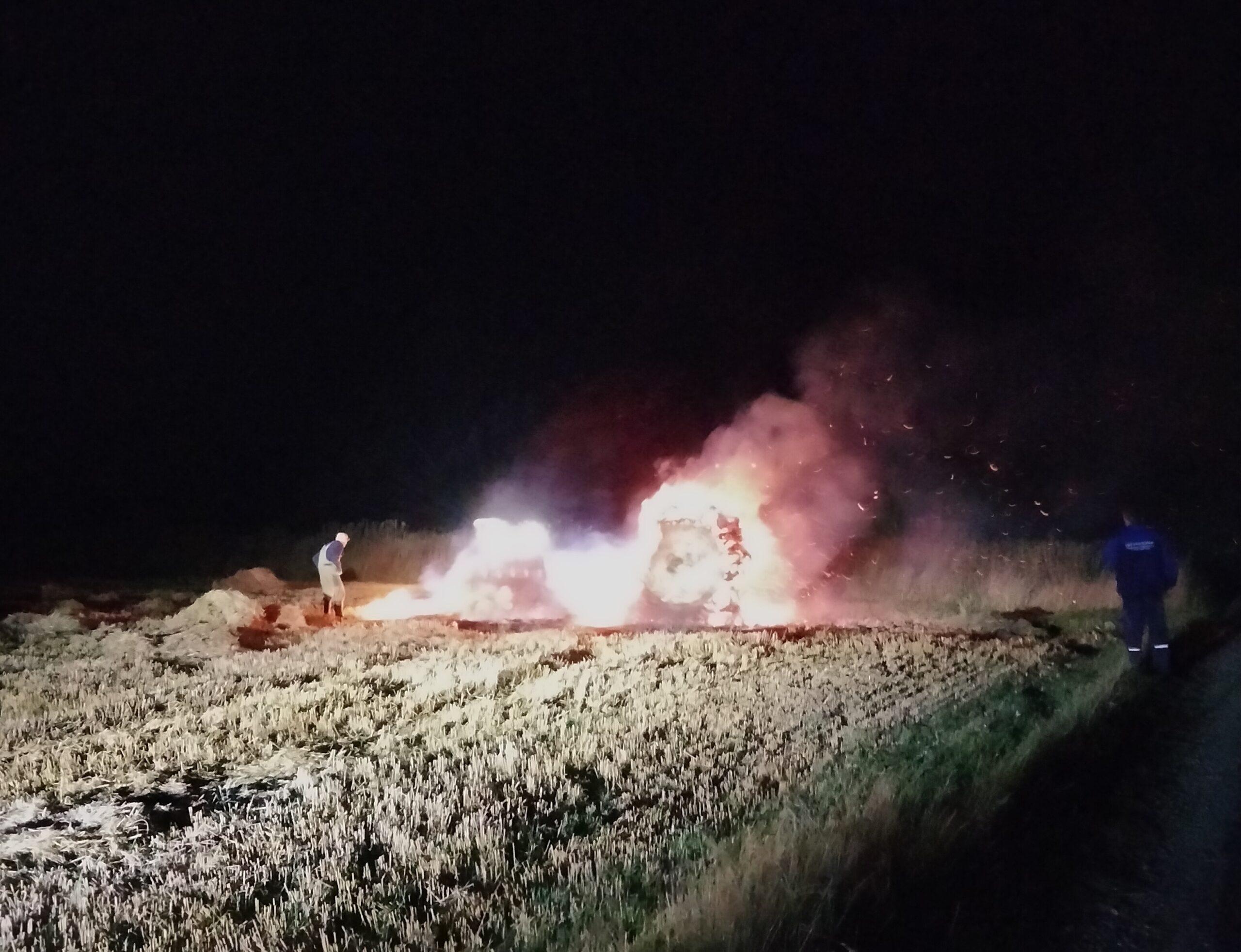 Mindre naturbrand i Bøvlingbjerg
