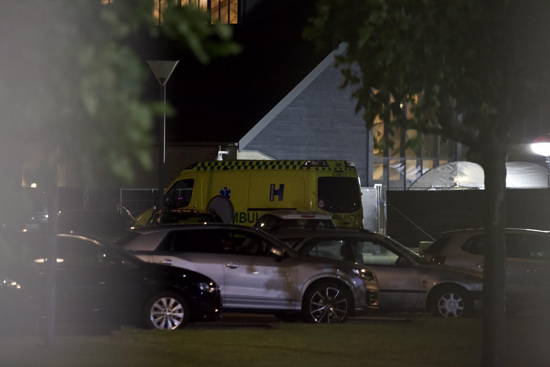 Evakueringsfly landet i Kastrup - ambulance til stede