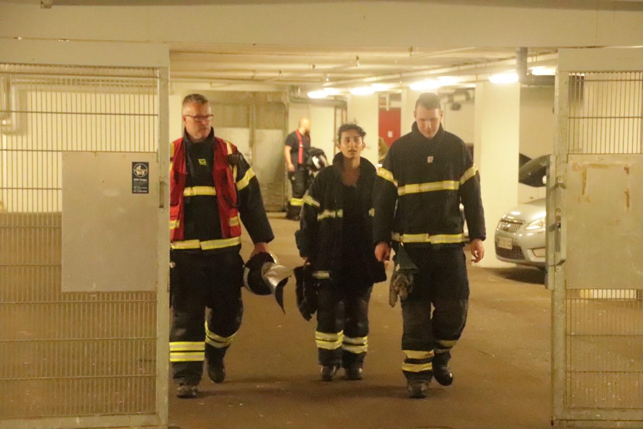 Aktiveret brandalarm i Herning