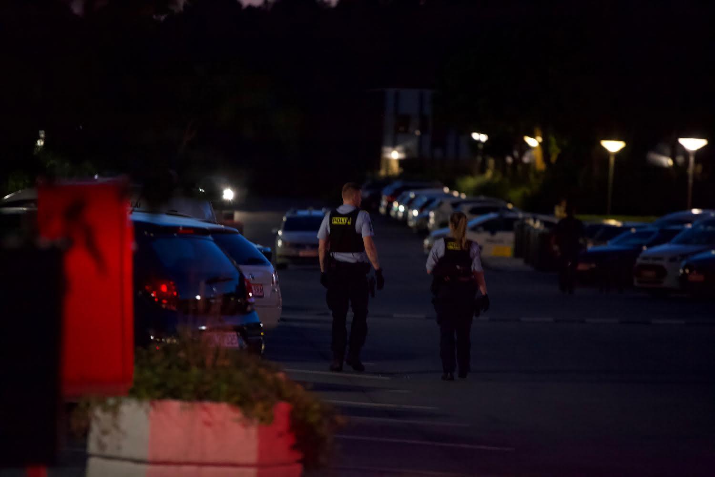 Politiaktion onsdag aften - flere patruljer fremme
