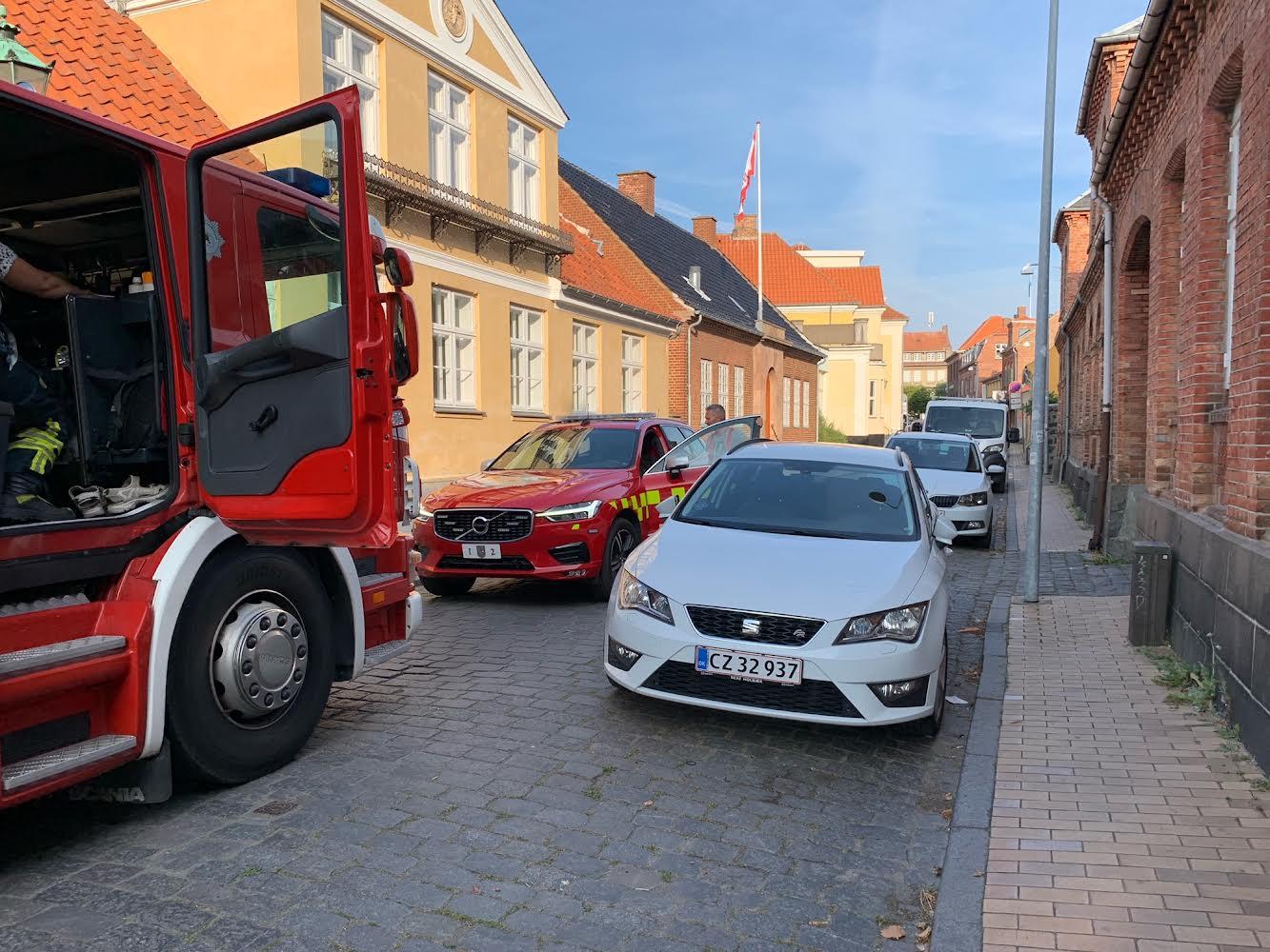 Aktiveret brandalarm på museum i Rønne