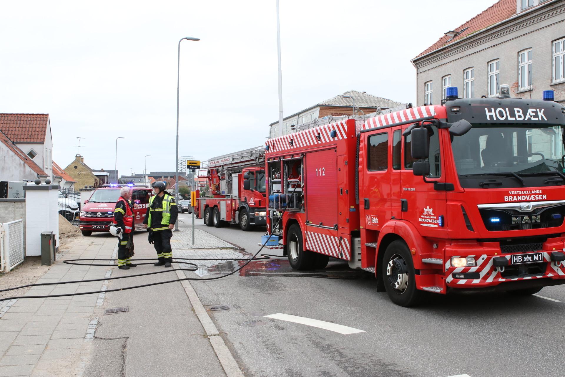 Brand i børnehave - alle evakueret