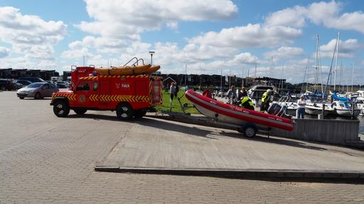 Melding om drukneulykke i Struer