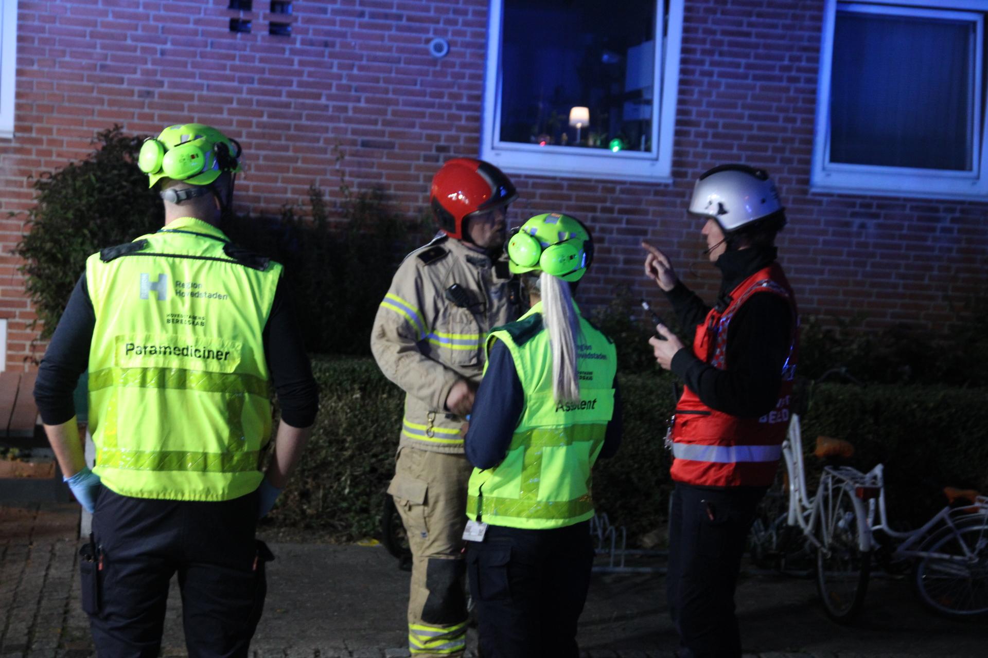 Ild i køkken - flere beboere evakueret