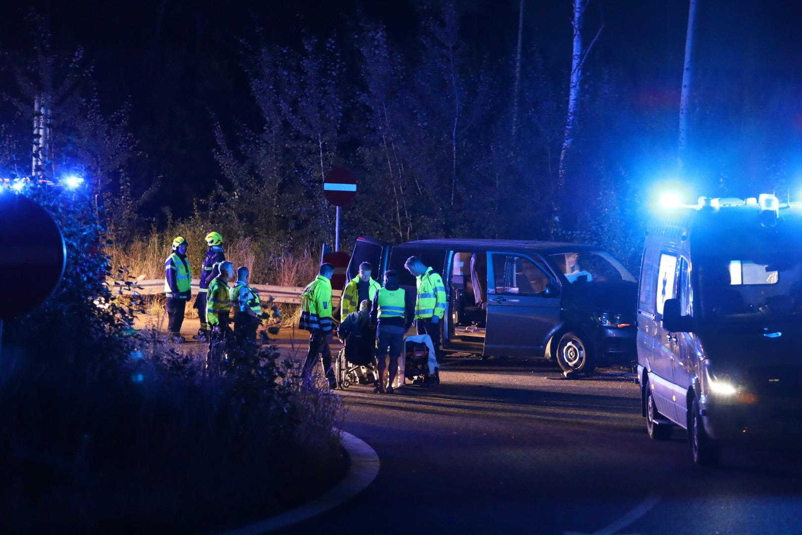Voldsomt færdselsuheld på Helsingør motorvejen