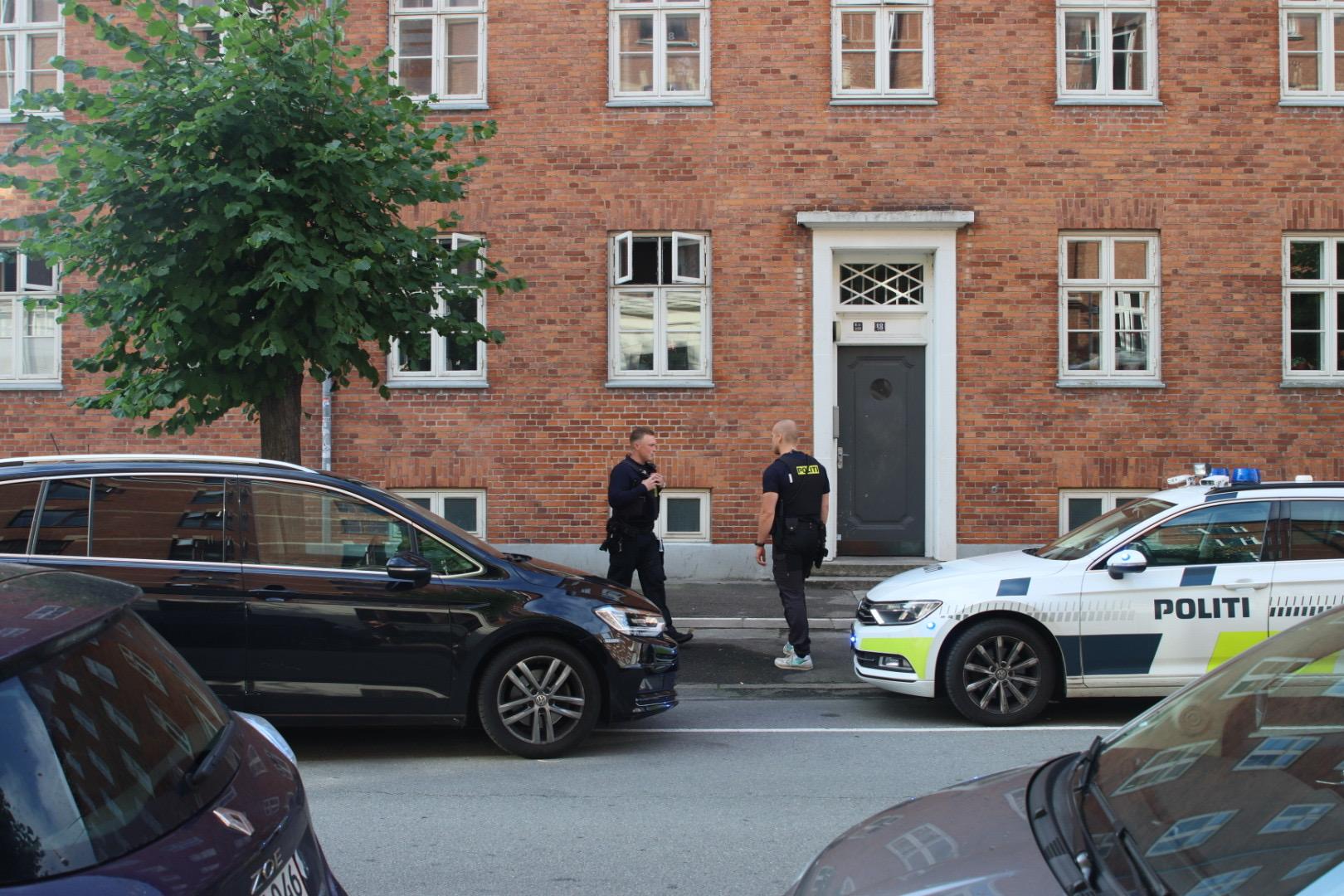 Politiaktion i København - flere patruljer fremme