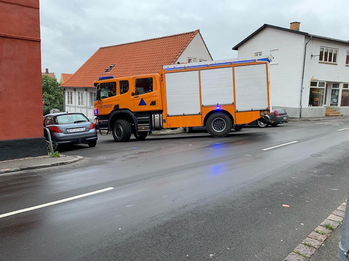 Aktiveret brandalarm på hotel i Allinge