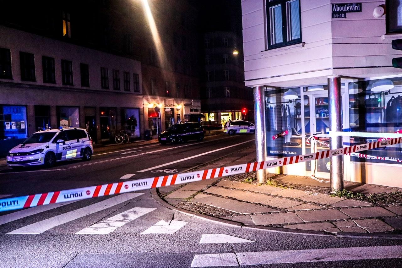 Politiaktion i København - stort område afspærret