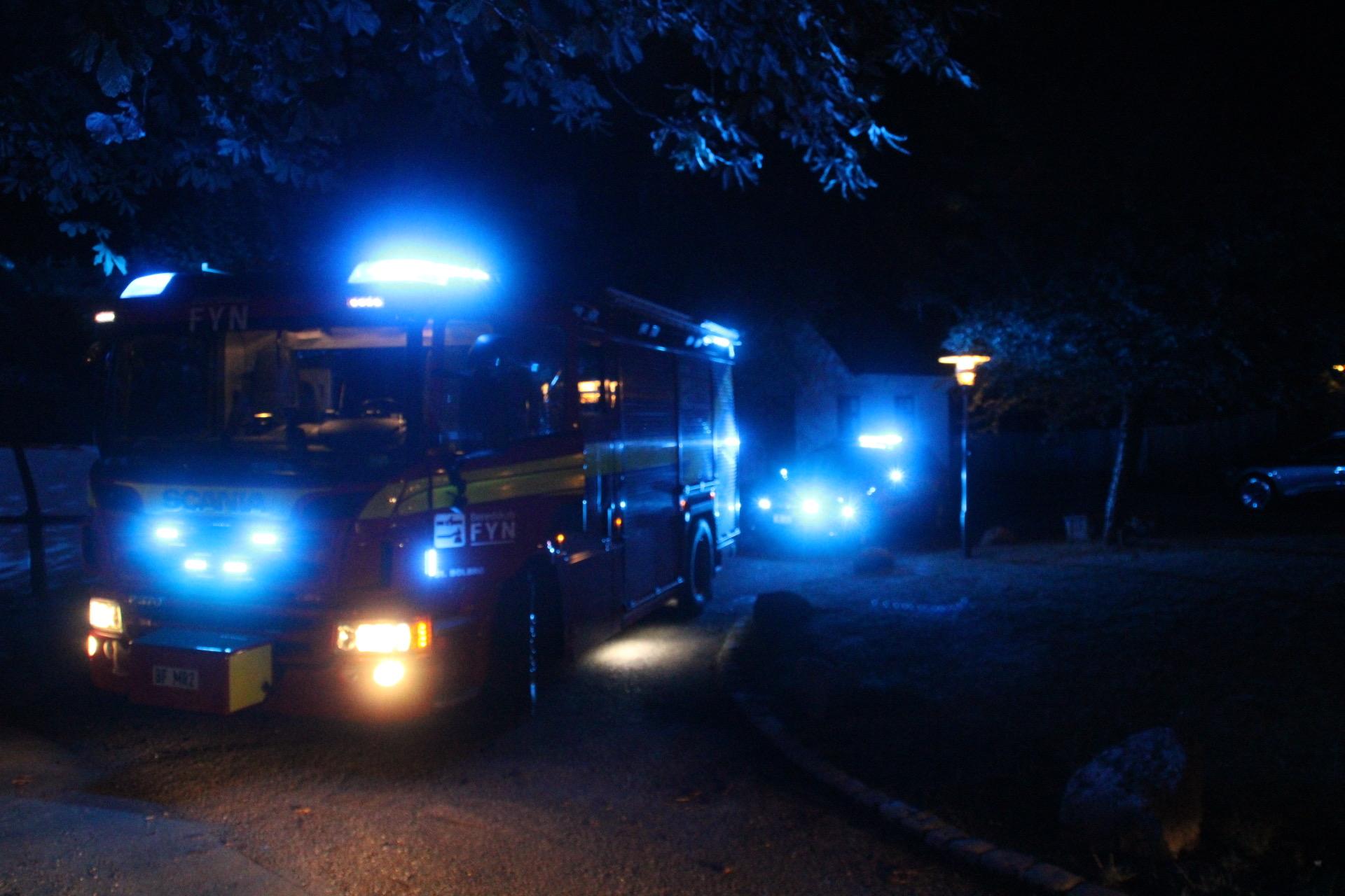 Aktiveret brandalarm i Odense