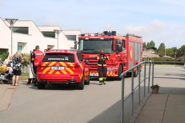 Kaldt ud til brandalarm i Taastrup