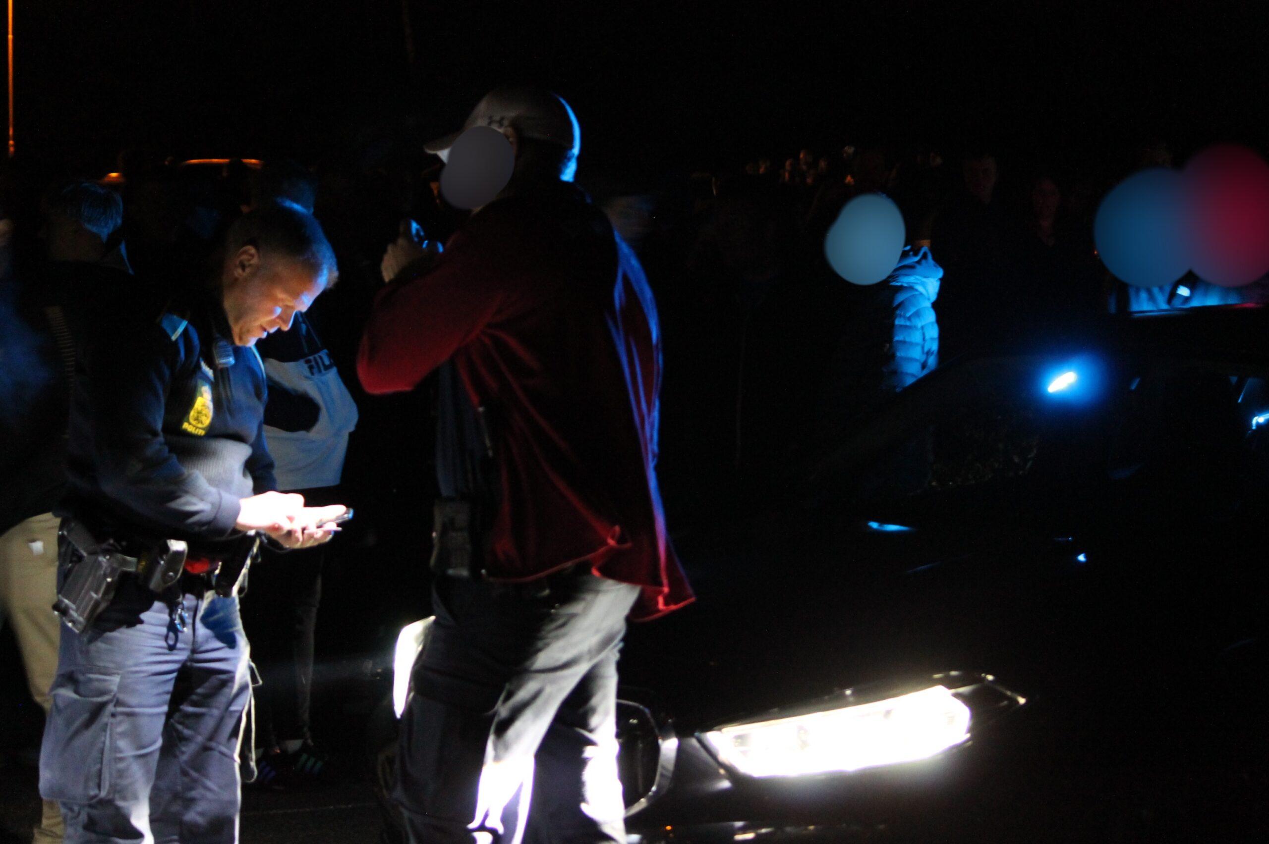 Politiet lukker biltræf i Aarhus
