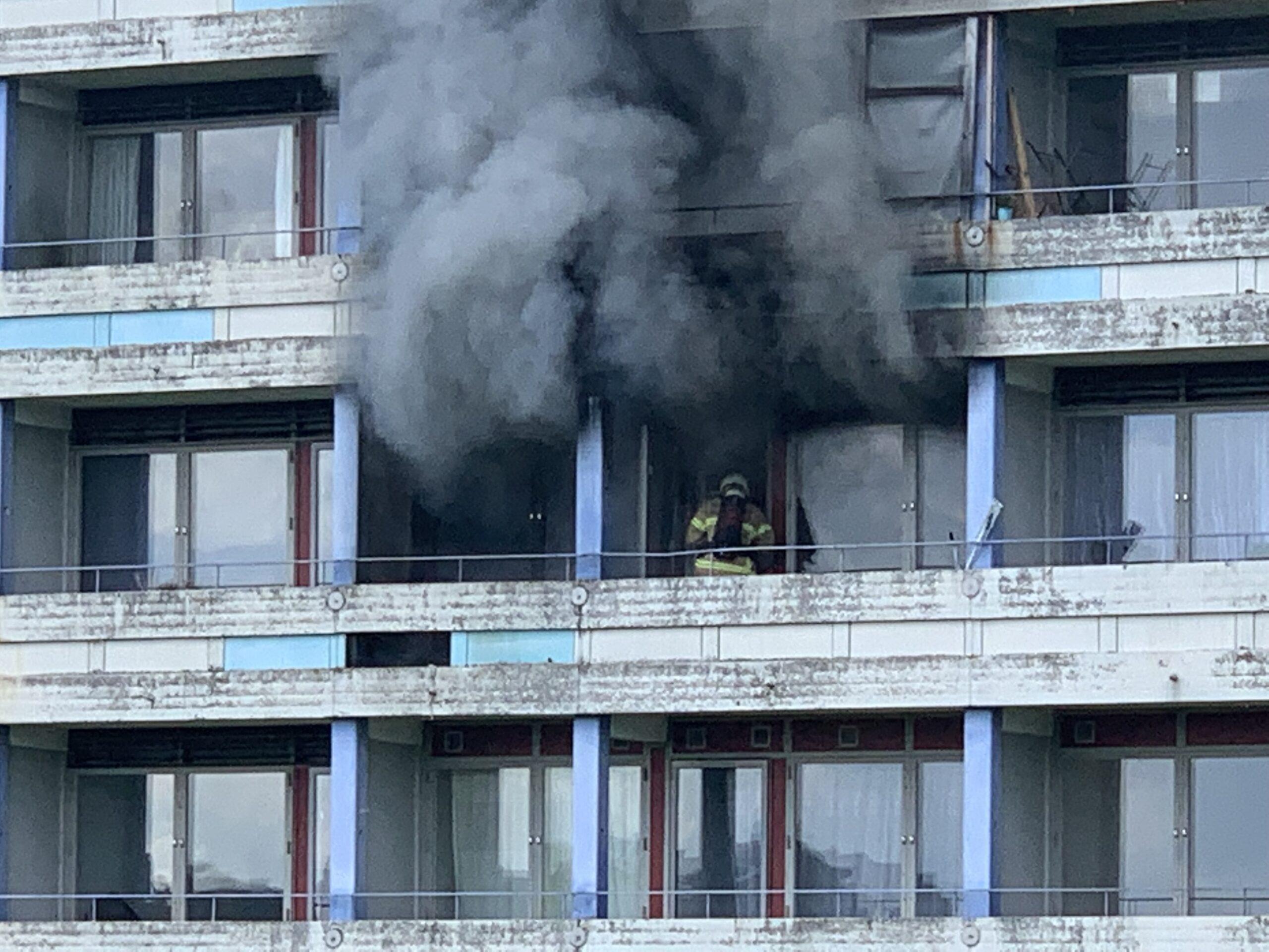 Voldsom lejlighedsbrand i Gellerupparken - Aarhus