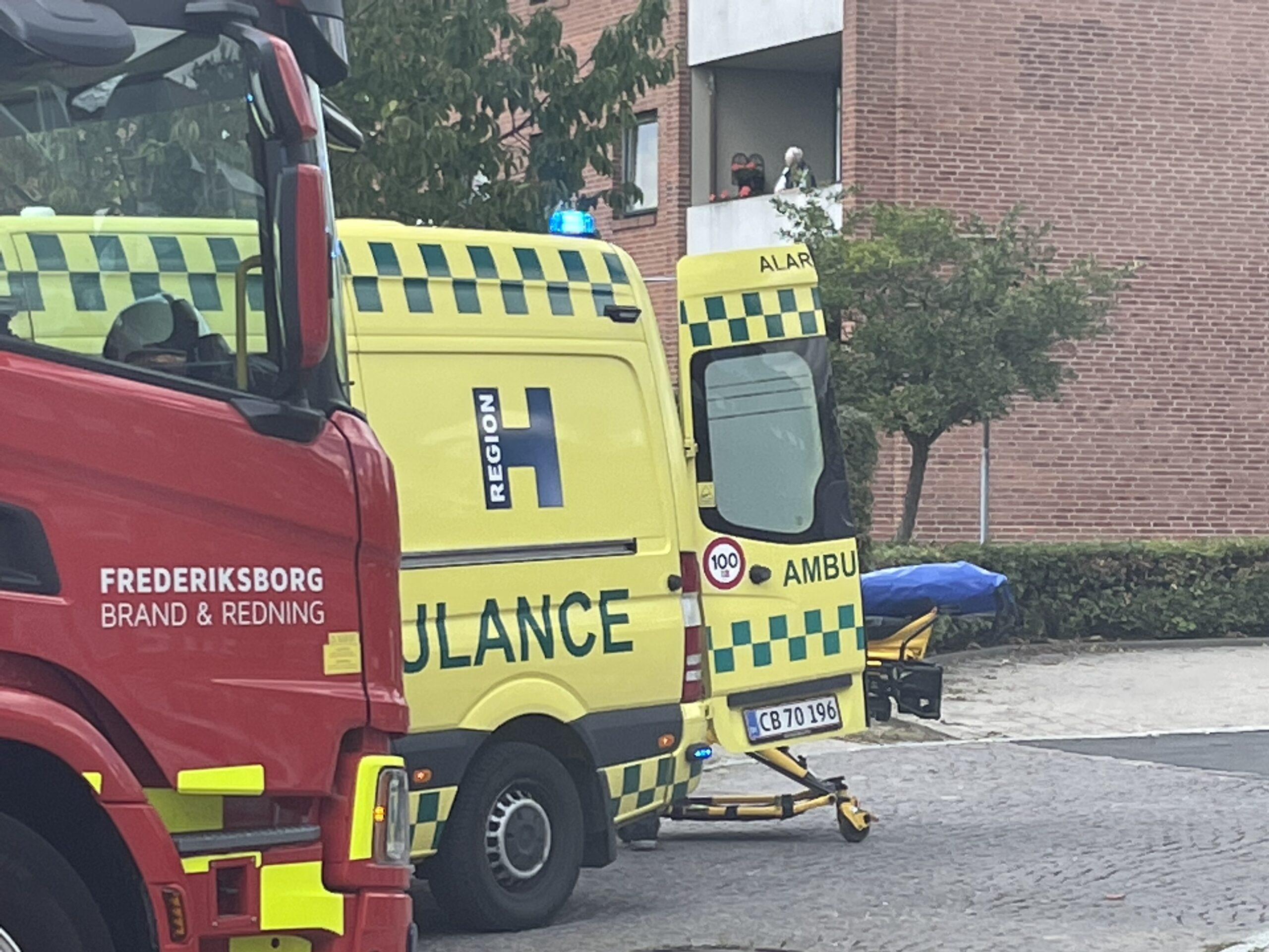 Færdselsuheld i Frederikssund