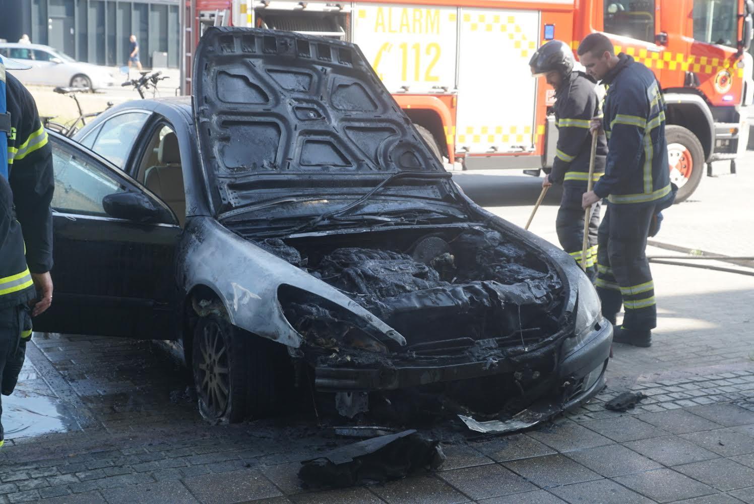 Bilbrand i Viborg