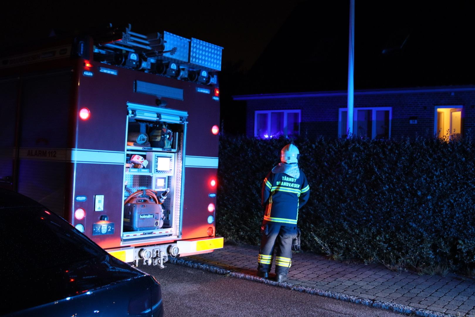 Ild i kælder i Tårnby - Redning fremme