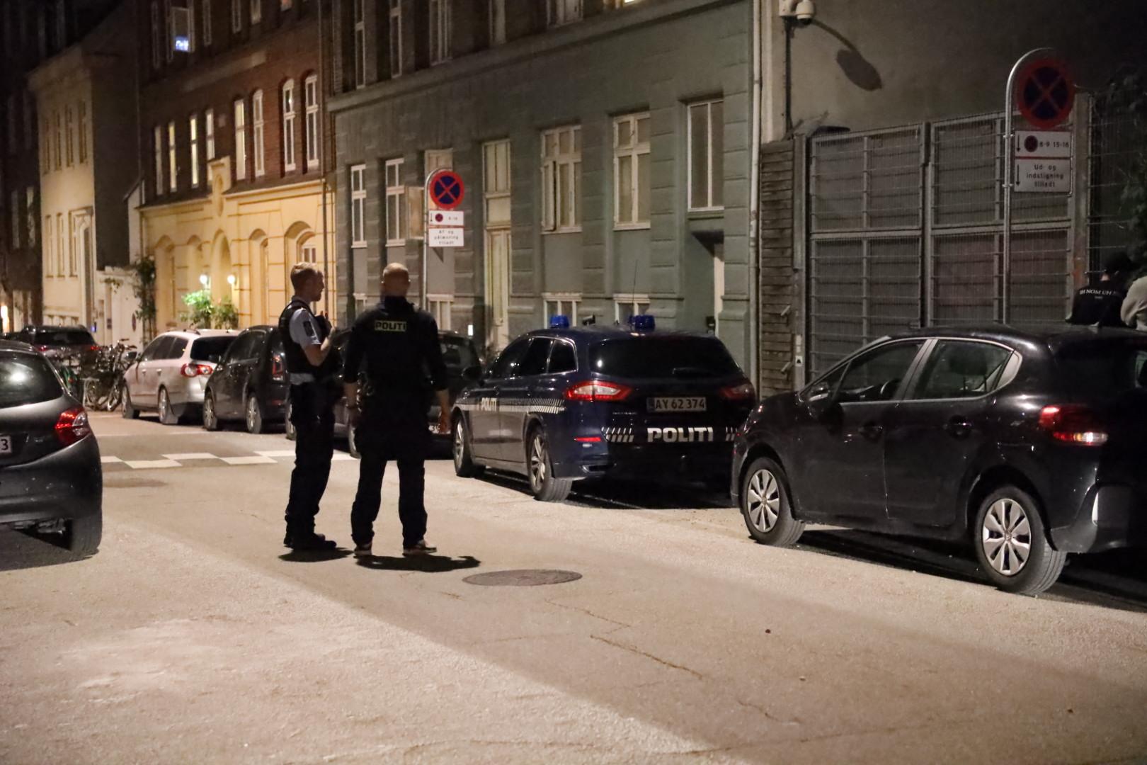 Politiaktion ved Blegdamsvejens fængsel - flere tilbageholdt