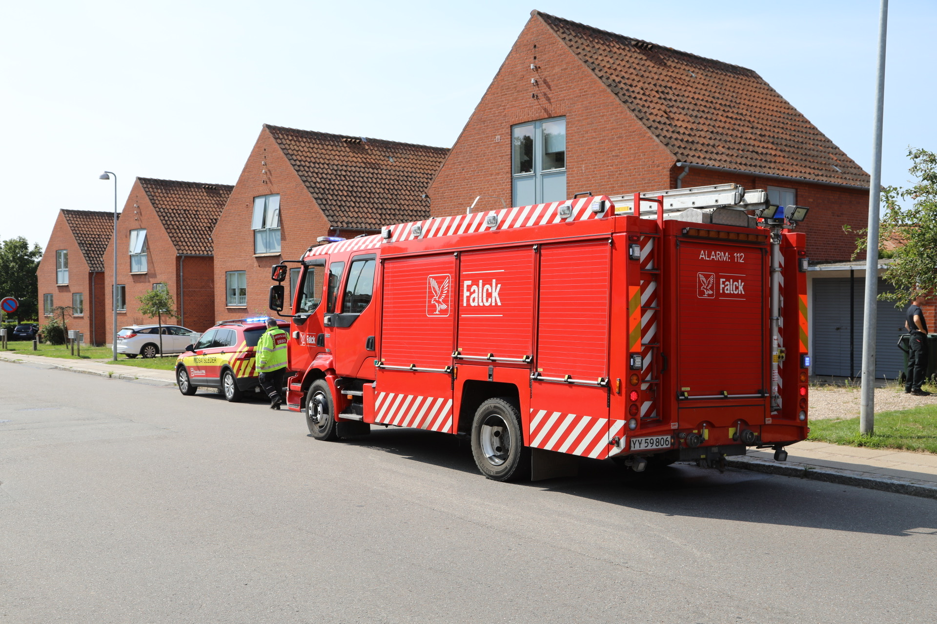 Mindre brand ved villa i Rudkøbing