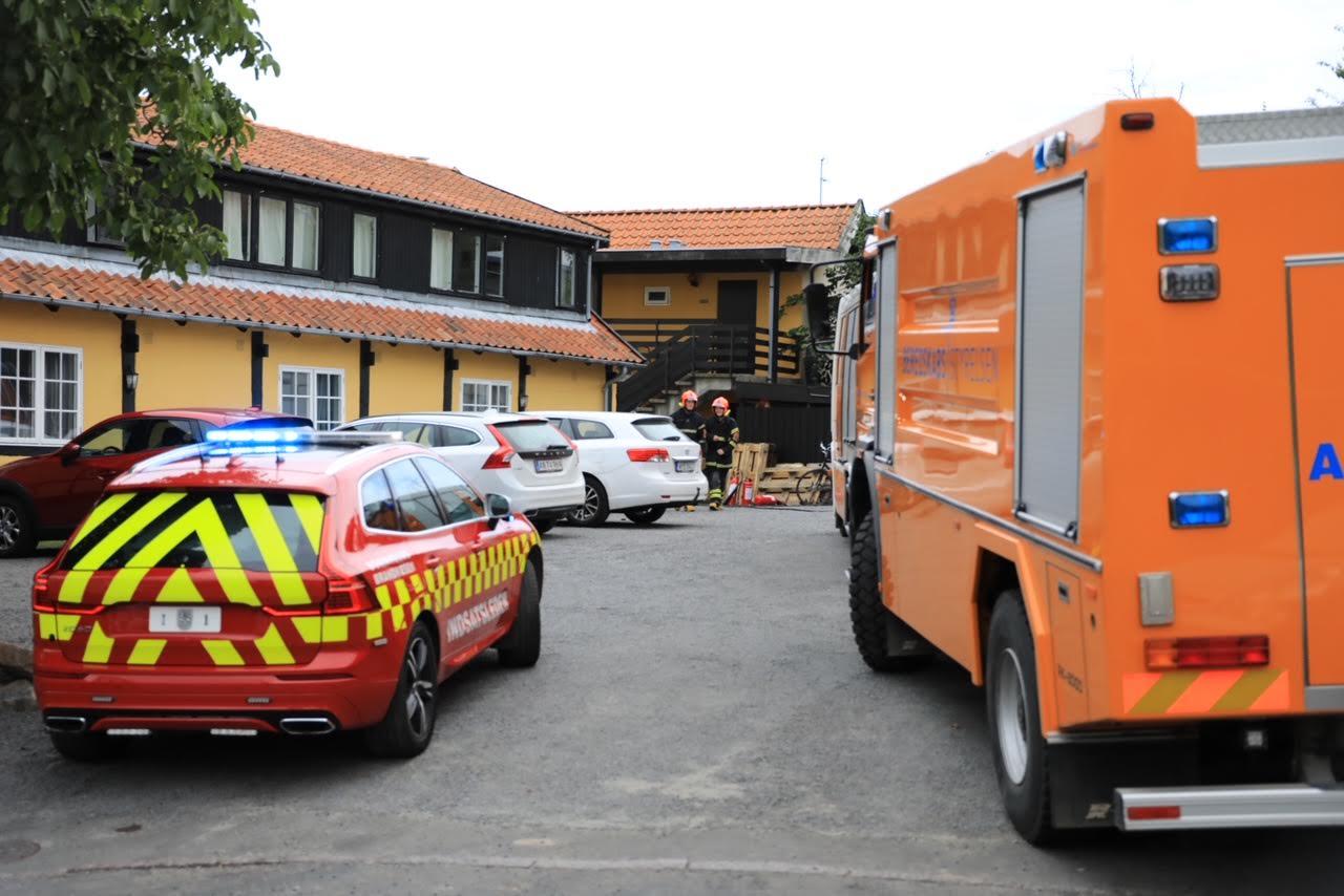 Mindre brand på hotel i Allinge