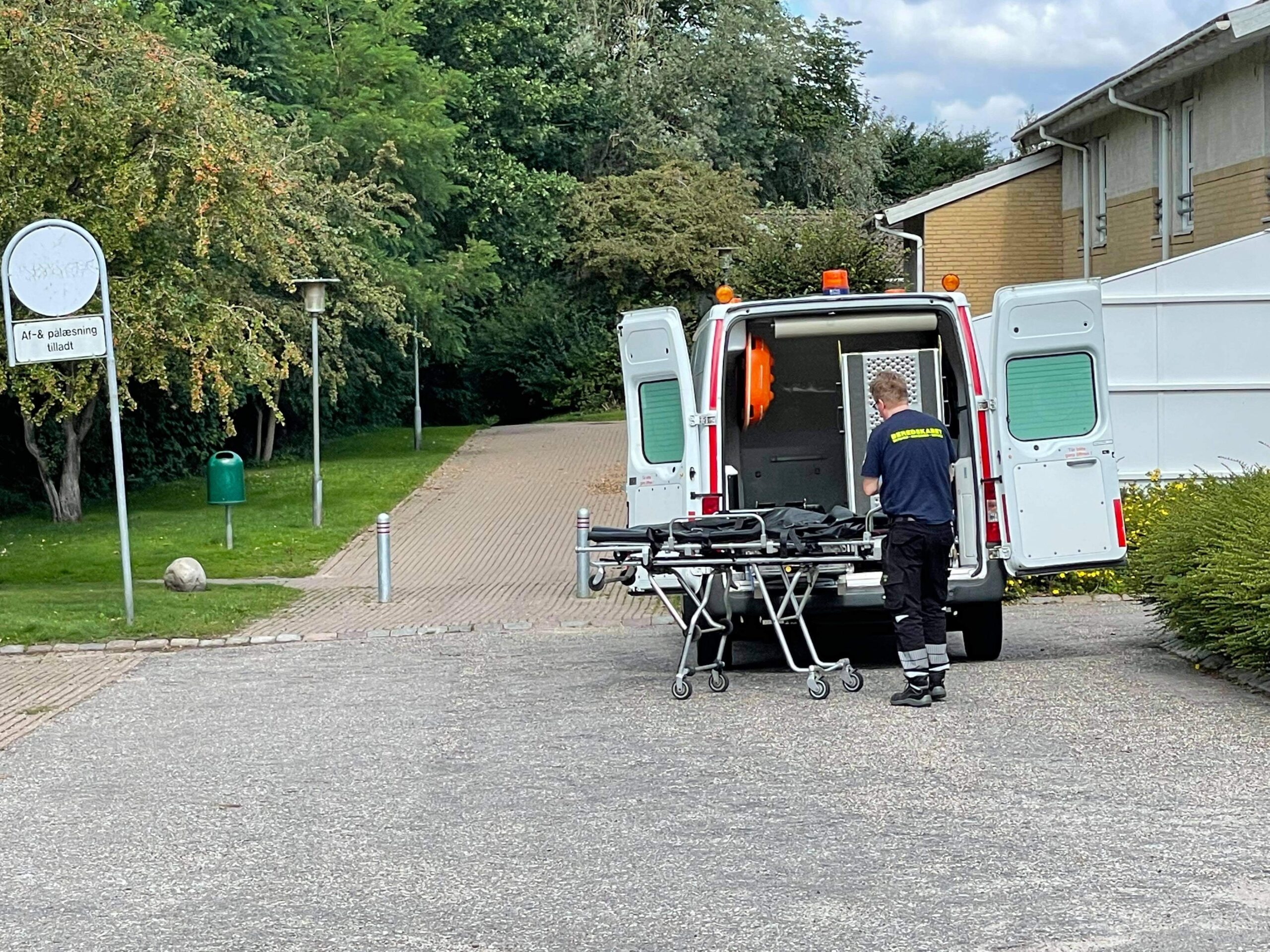 Person fundet død i villakvarter i Herlev lørdag morgen