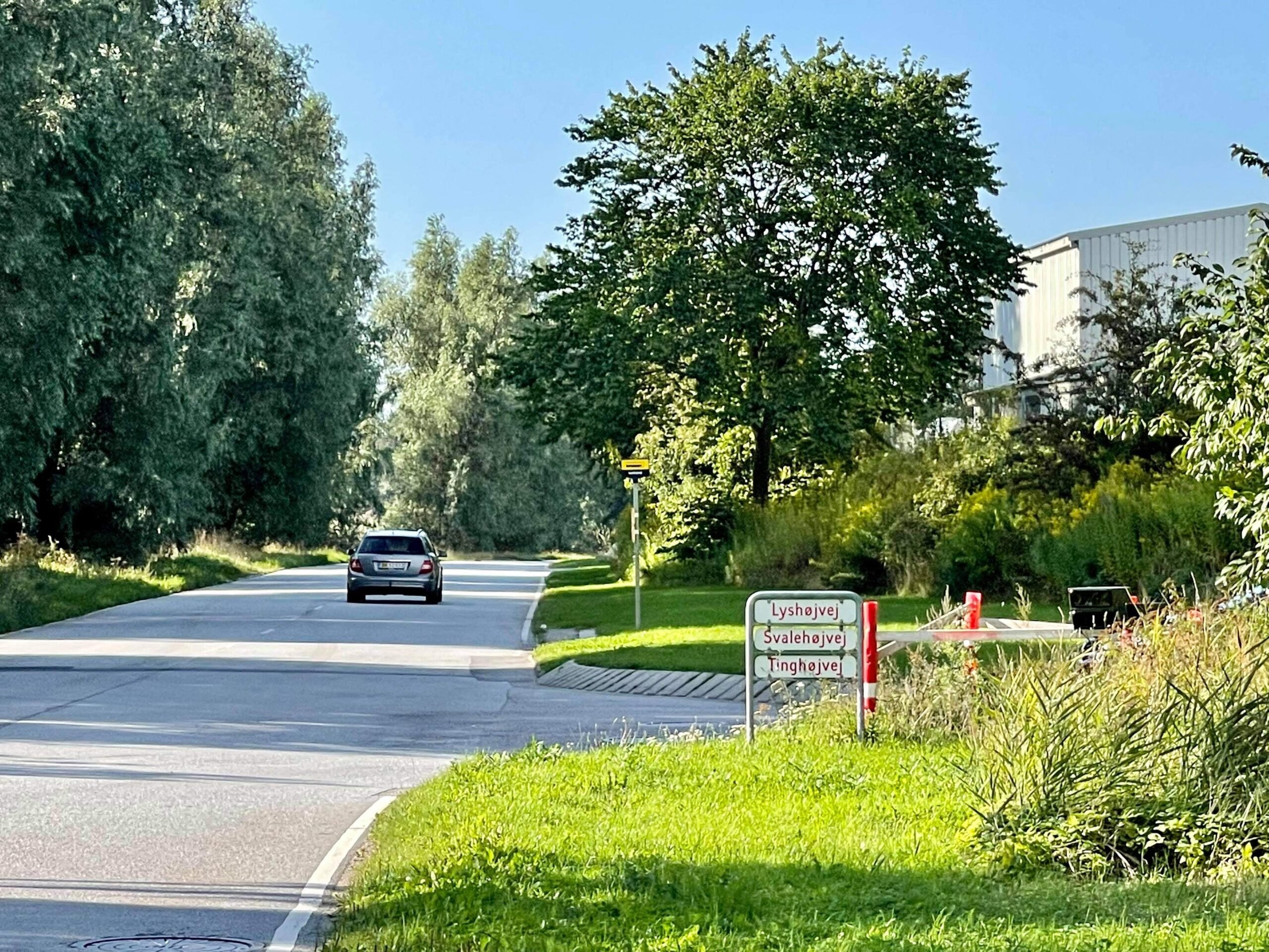 Skjult fartkontrol i Ølstykke - flere bilister blitzet