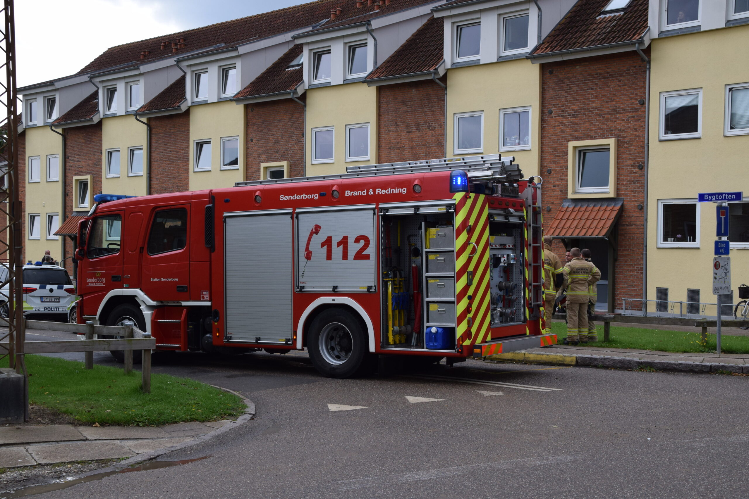 Mindre lejlighedsbrand i Sønderborg