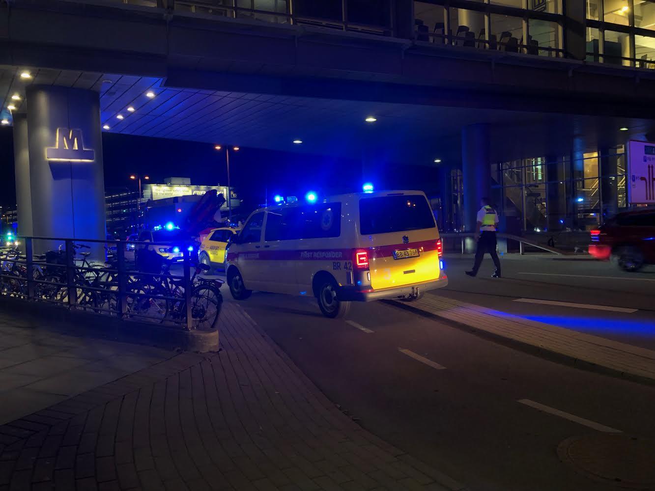 Brandalarm i Kastrup Lufthavn