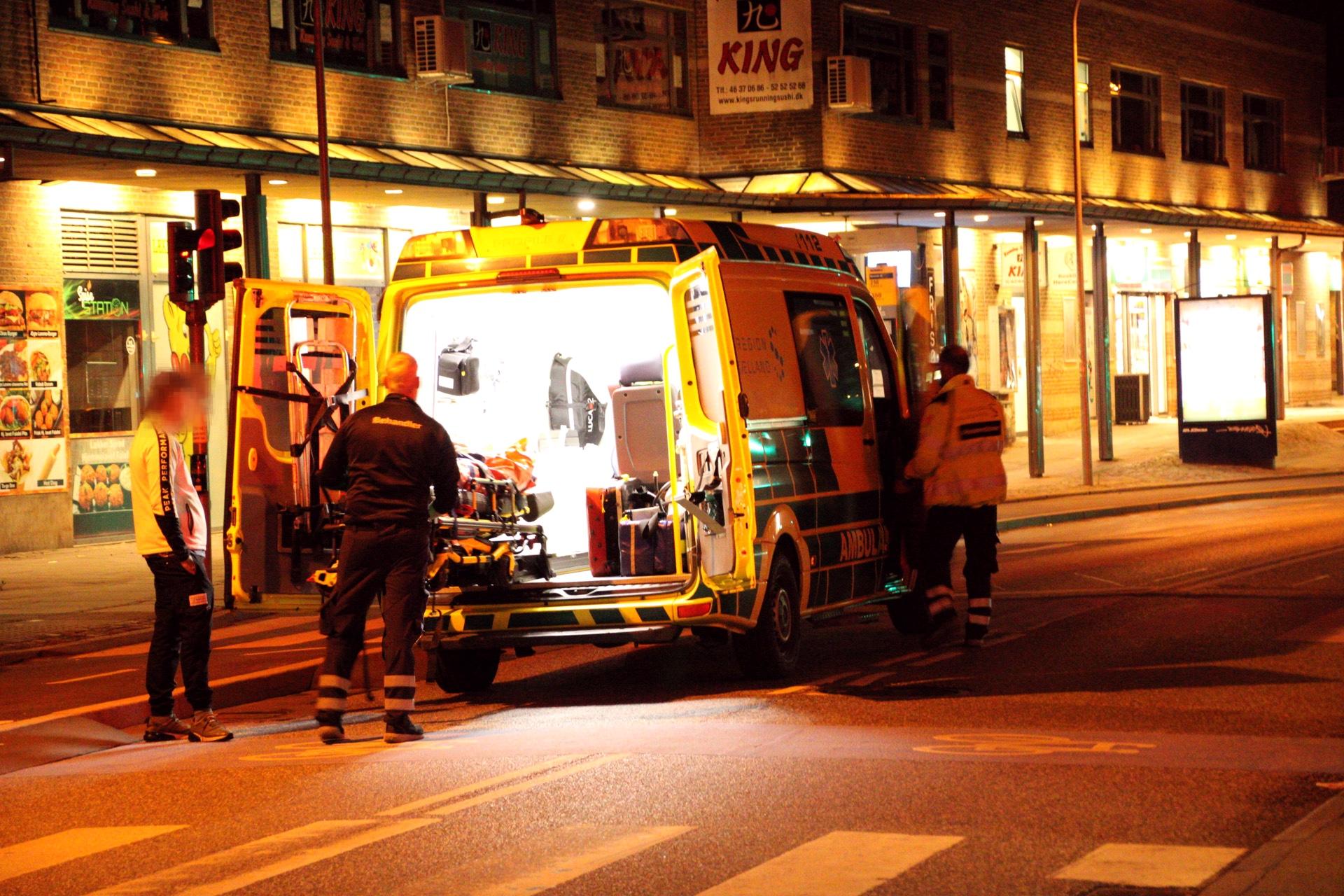 Uro igen i Roskilde - en person kørt på hospitalet