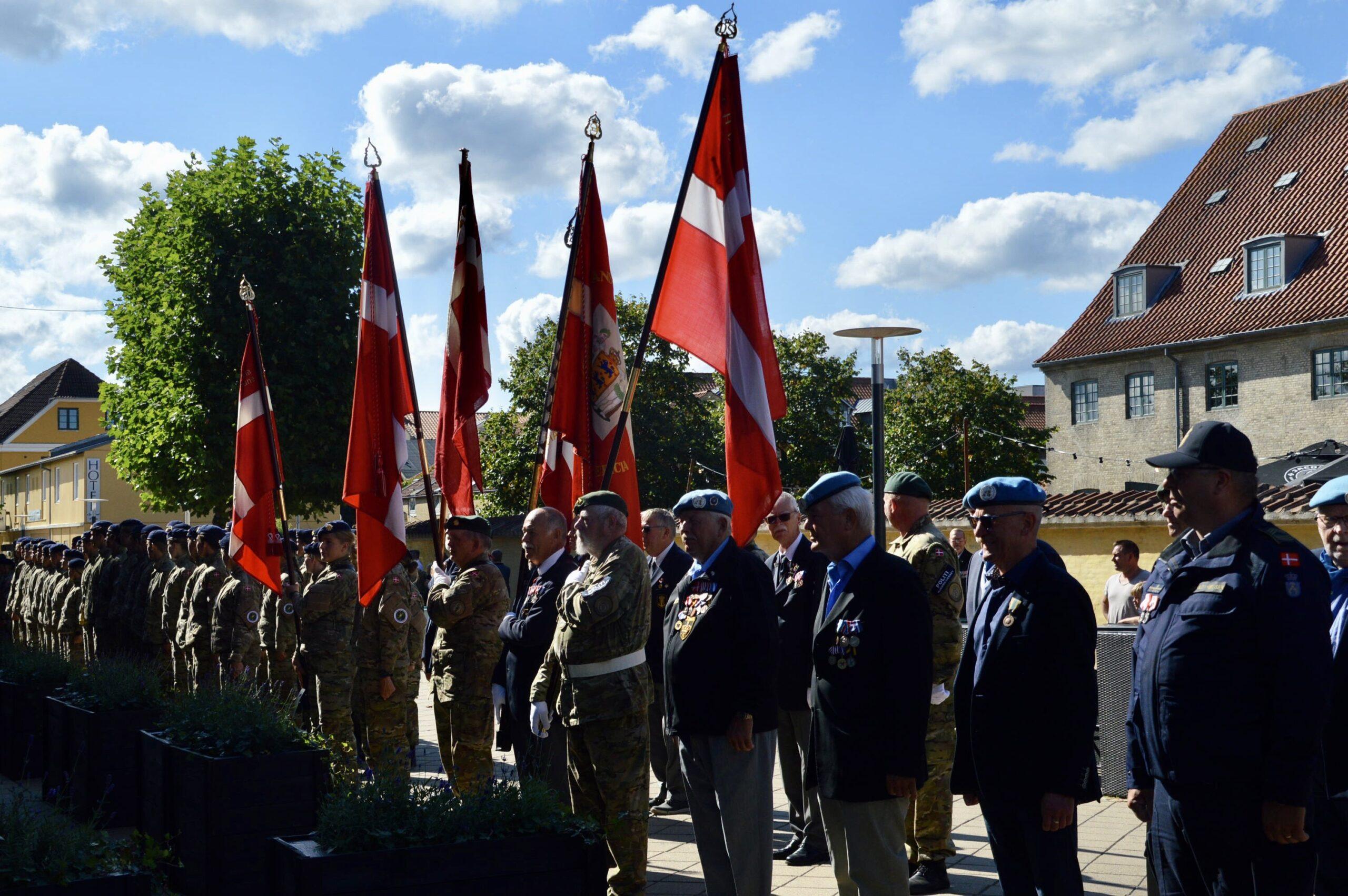Flagdag for veteraner i Fredericia