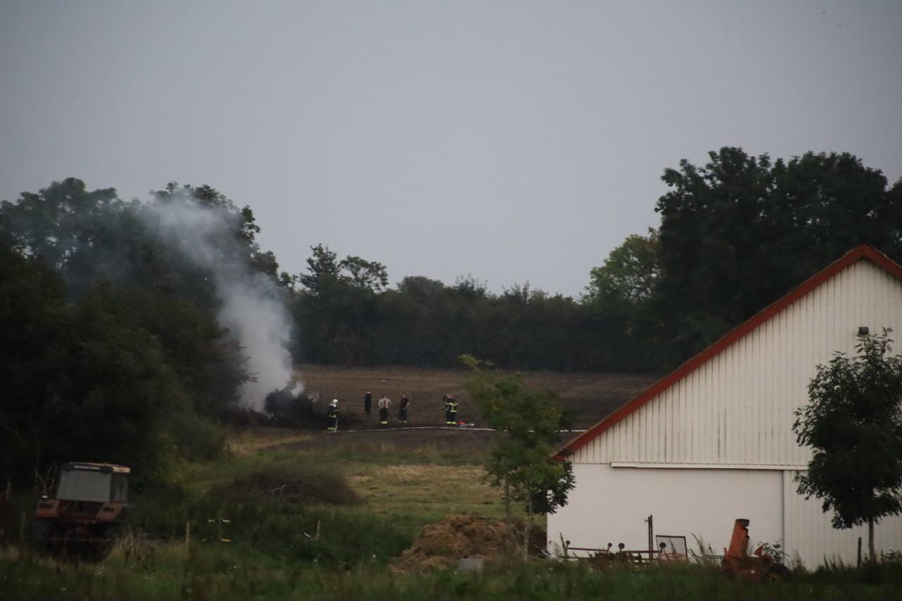 Naturbrand i Rødding tirsdag aften