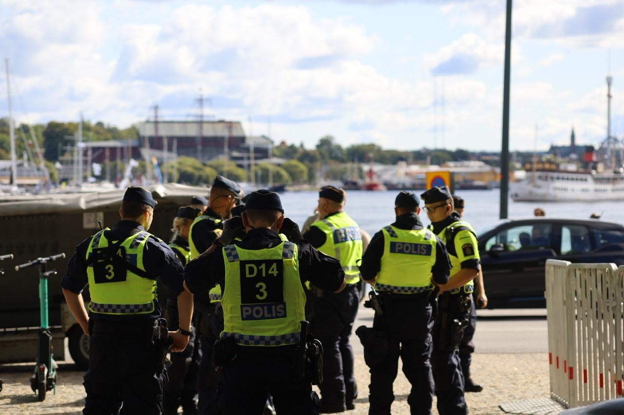 Gigantisk sikkerhedsopbud i Stockholm - frygter ballade ved Paludan-demonstration