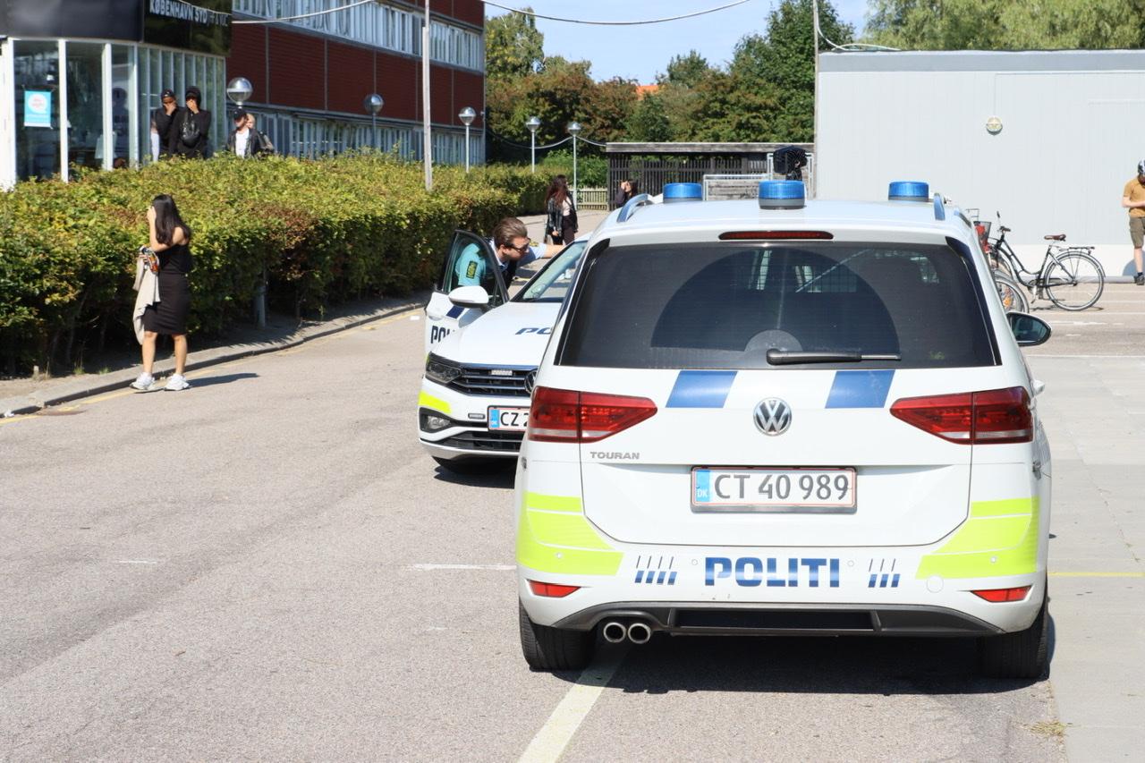 Politiaktion på KBH Syd i Hvidovre