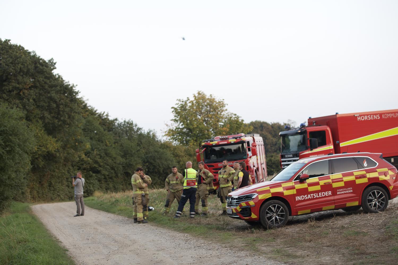 Fly meldes styrtet i Horsens - forsvaret er med i eftersøgningen