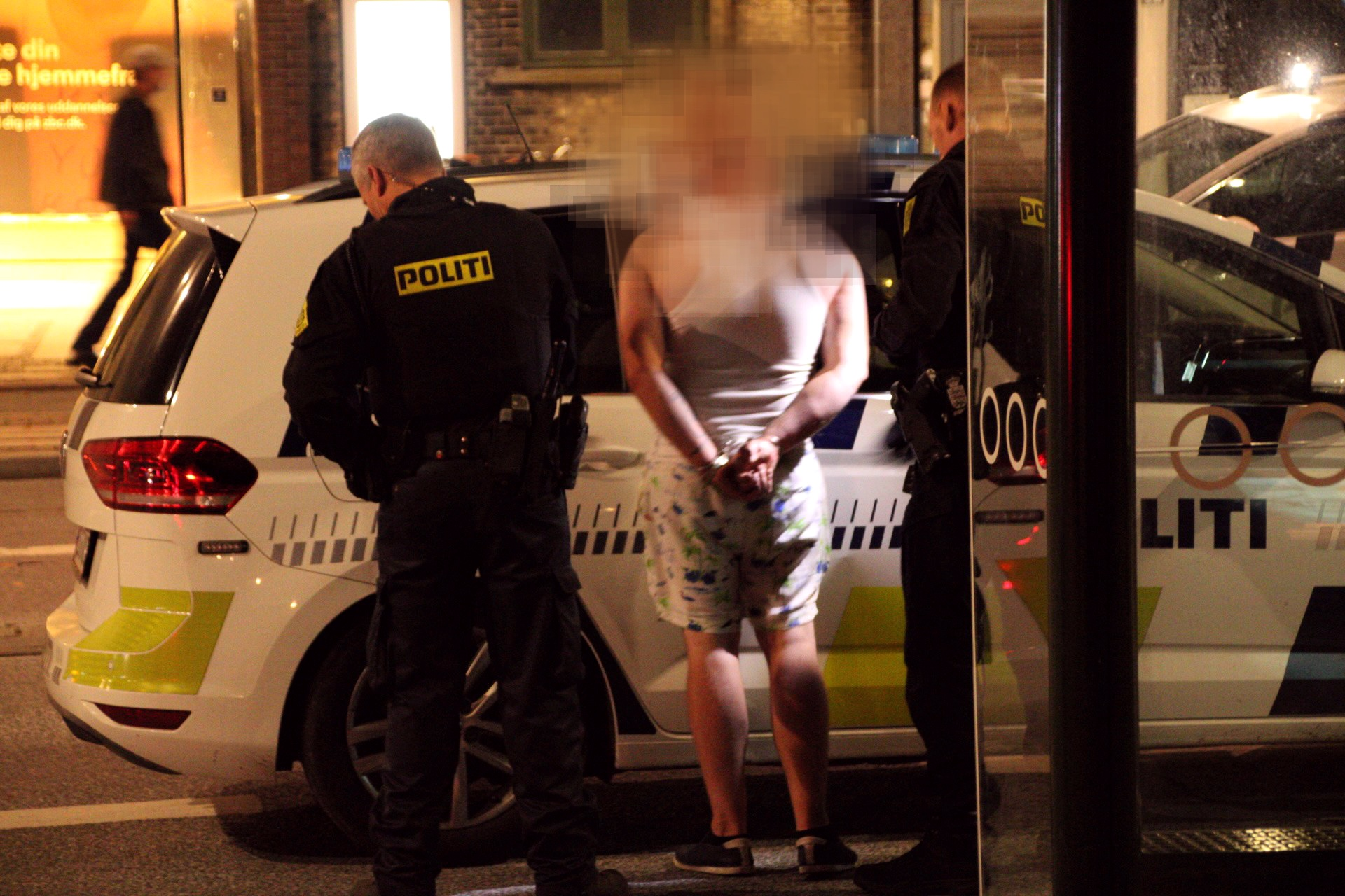 Uro og anholdelse i Roskilde