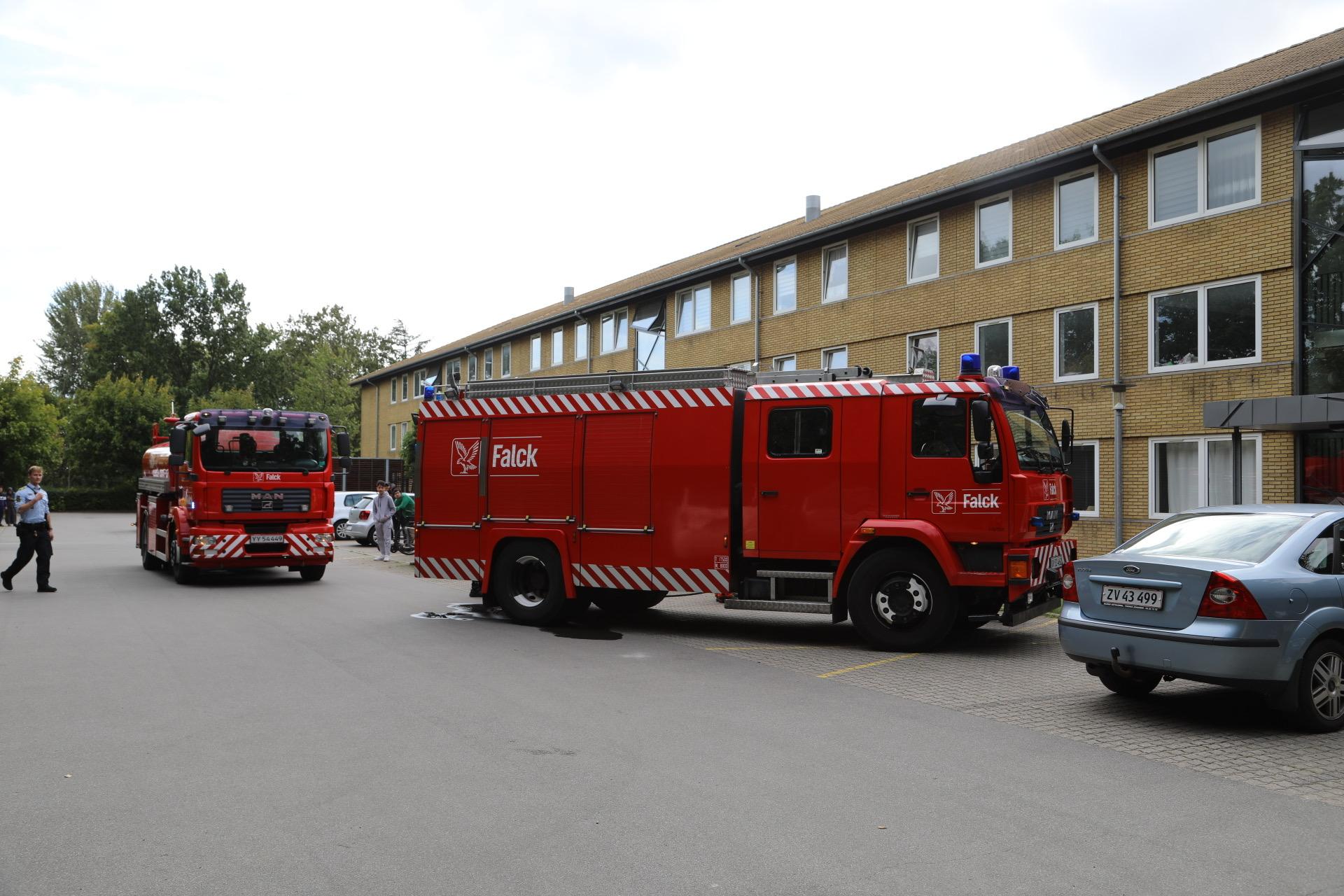 Melding om brand i lejlighed i Svendborg