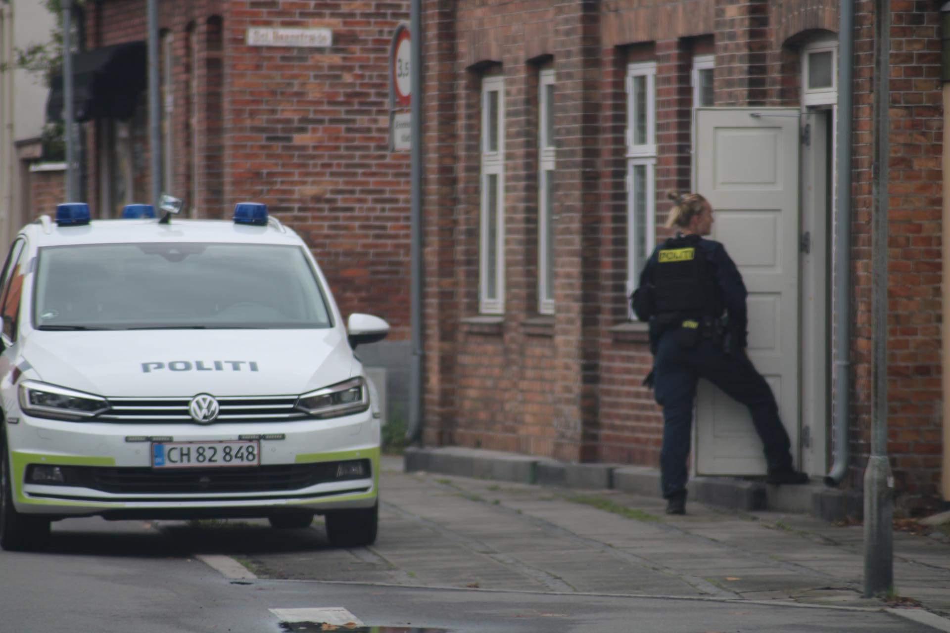 Menneskejagt på Bornholm inden anholdelse af mistænkt