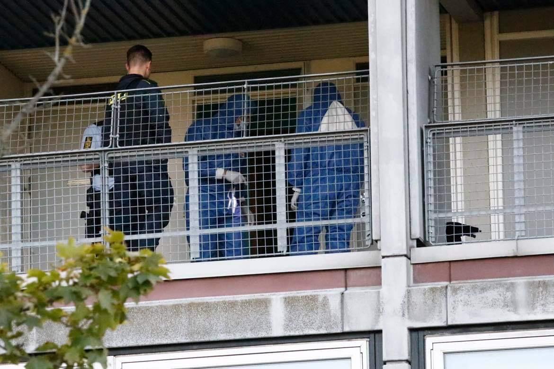 Mistænkeligt dødsfald i Rødovre - politi og teknikere til stede