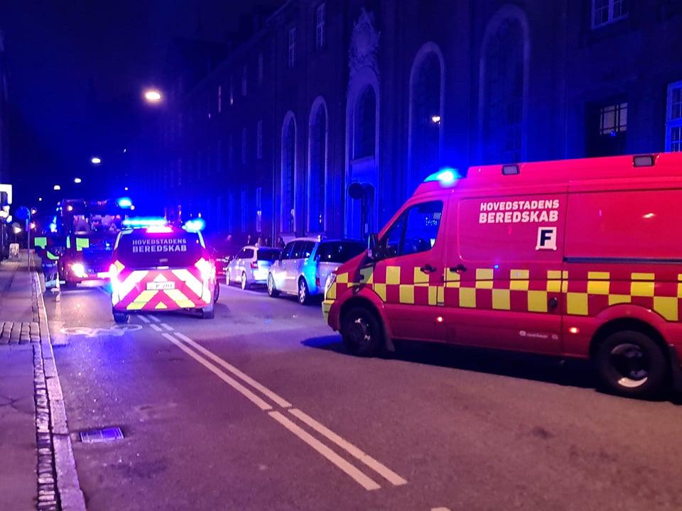 Brandalarm aktiveret i København